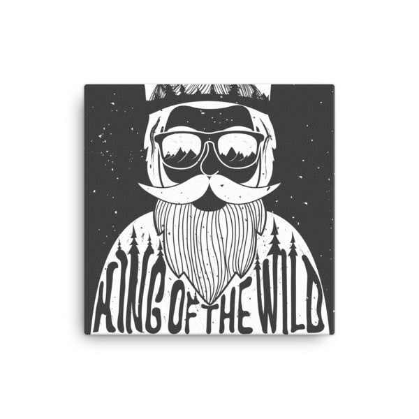 King of the Wild Canvas - Hutsylife - 1