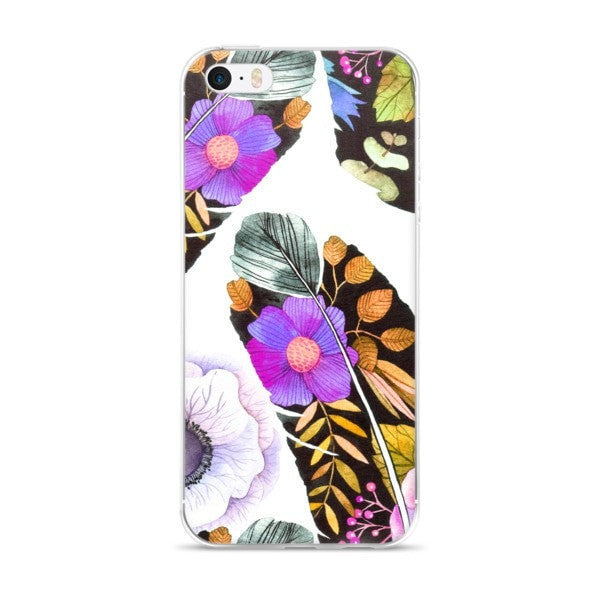 Birds feather iPhone case - Hutsylife - 1