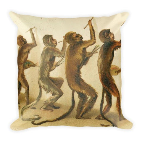 Painting monkey Pillowcase