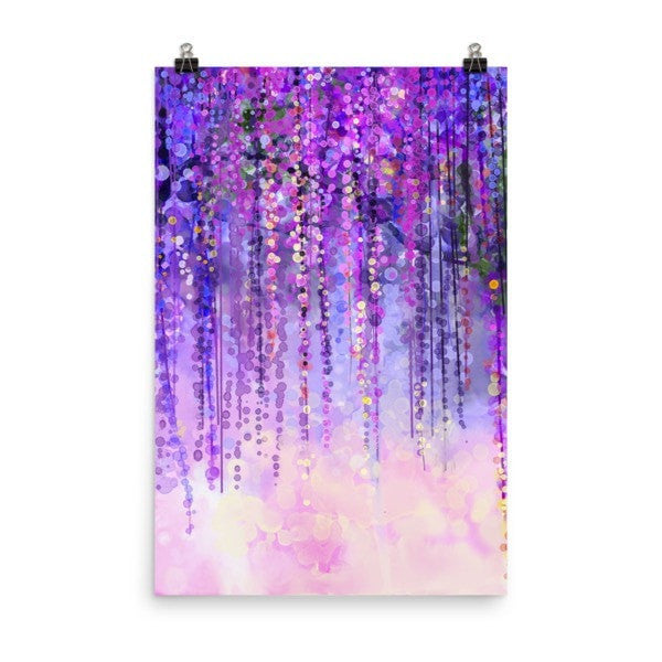 Dark purple lush Poster - Hutsylife - 8