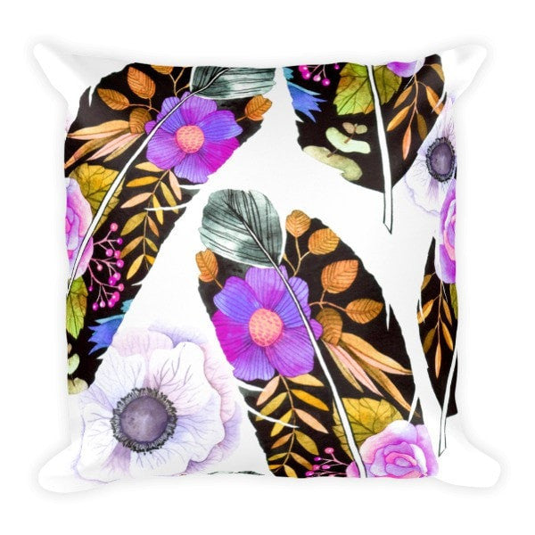 Birds feather Pillowcase - Hutsylife - 2