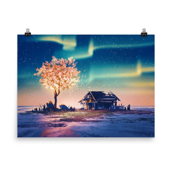 Northern lights Poster - Hutsylife - 6