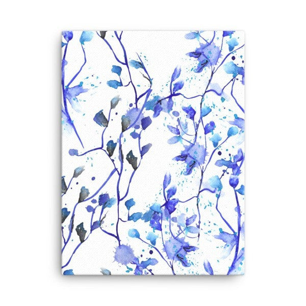 Blue Vine Canvas - Hutsylife - 3