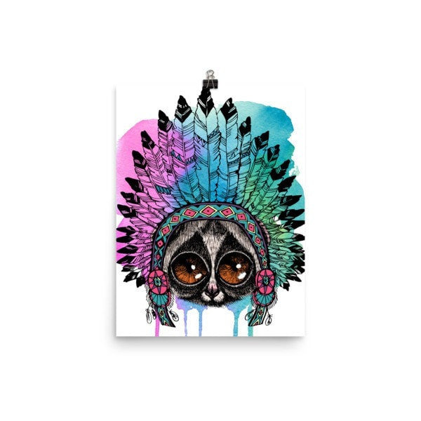 Loris headress Poster - Hutsylife - 5