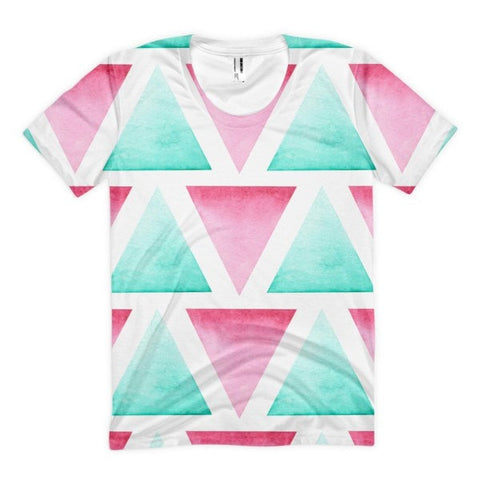 All over print - Blended Women's sublimation t-shirt