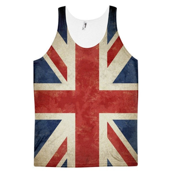 United kingdom Classic fit men's tank top - Hutsylife