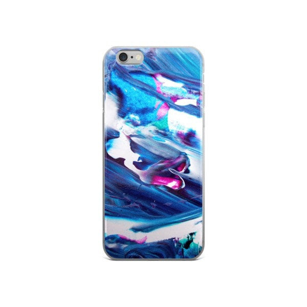 Acrylic blue iPhone case - Hutsylife - 3