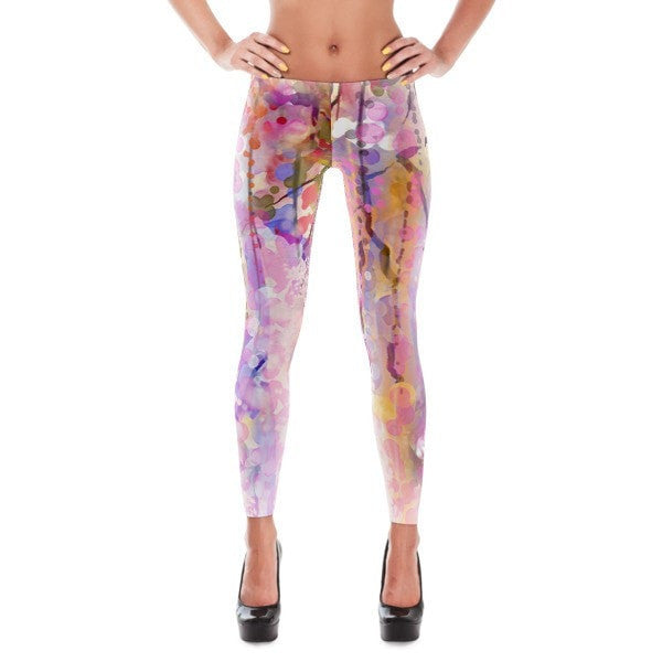 Purple lush Leggings - Hutsylife - 1