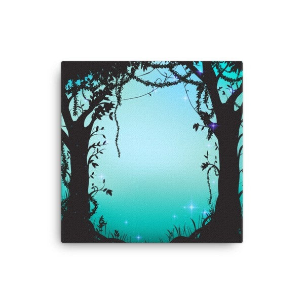 Thicket night Canvas - Hutsylife - 1