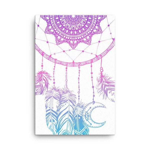 Boho dreamcatcher Canvas - Hutsylife - 4