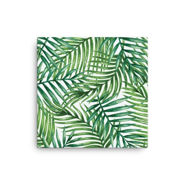 Tropical leaves Canvas