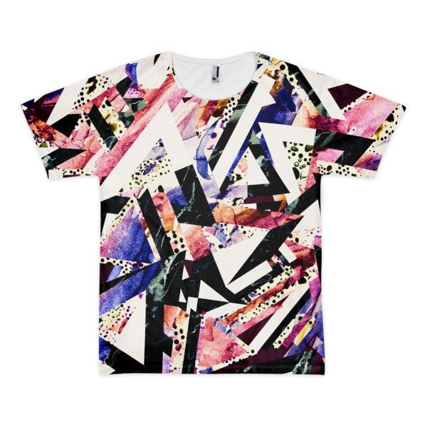 All over print - Psychadelic ay Short sleeve men's t-shirt - Hutsylife - 1