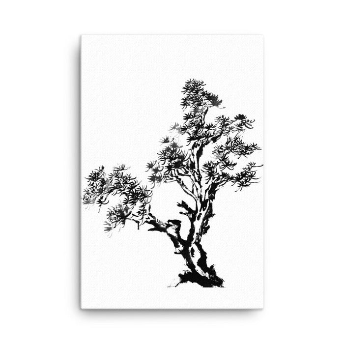 Branching Wind Canvas