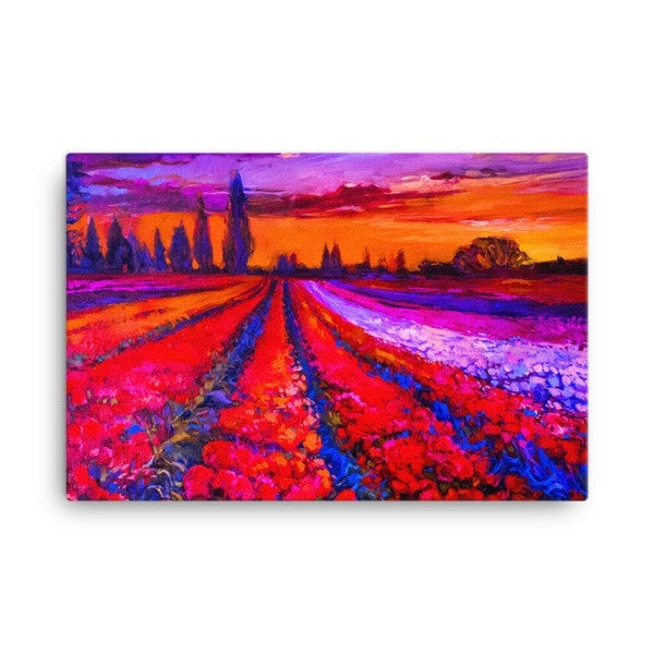 Tulip field Canvas - Hutsylife - 4