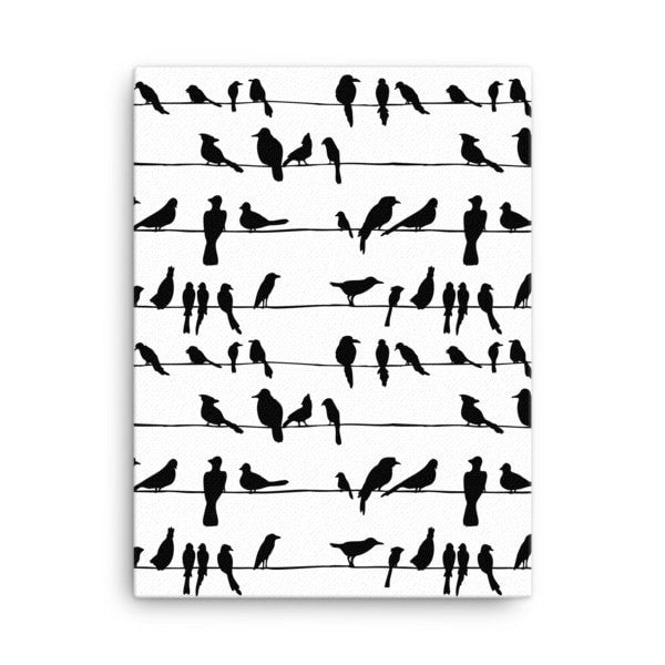 Bird talk Canvas - Hutsylife - 3