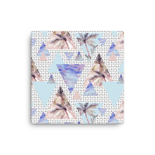 Summer Geometric Canvas - Hutsylife - 1