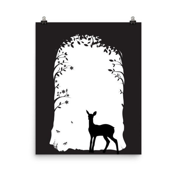 Deer's tunnel Poster - Hutsylife - 6