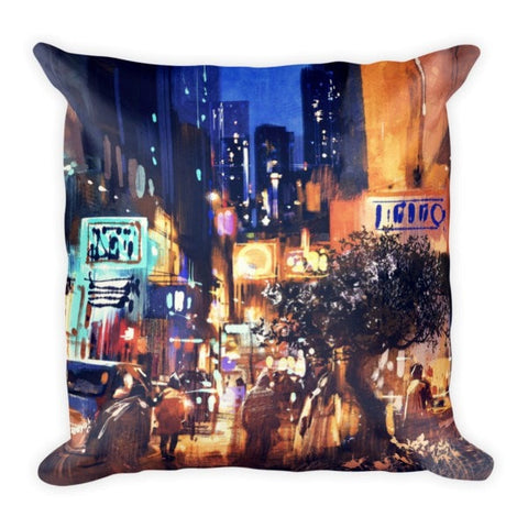 Night's Rain Pillowcase