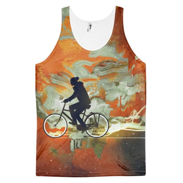 All over print - Bicycle universe Classic fit men's tank top - Hutsylife - 1