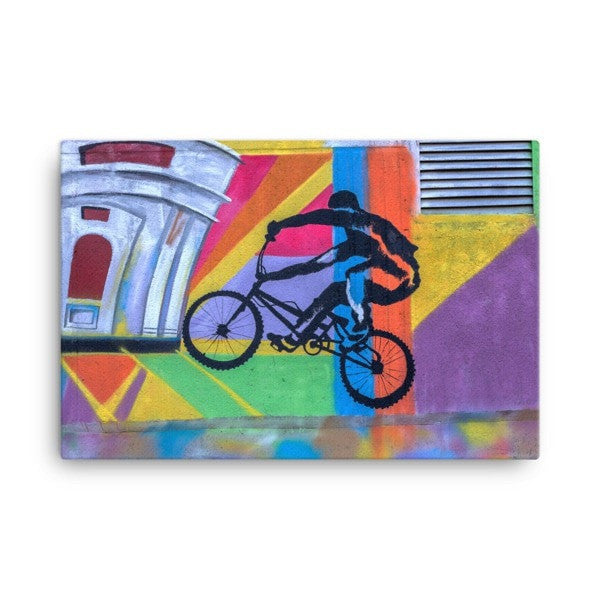 Bike life alter Canvas - Hutsylife - 4