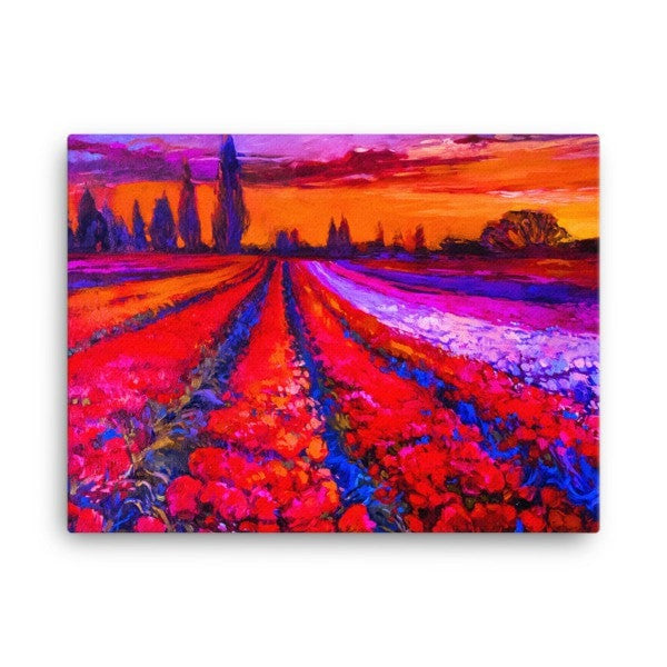 Tulip field Canvas - Hutsylife - 3