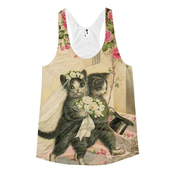 All over print - Women's Racerback Summer Tank - Hutsylife - 1