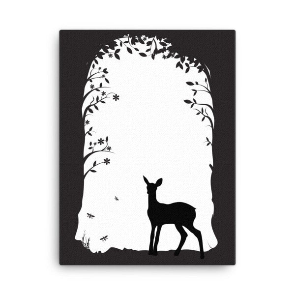 Deer's tunnel Canvas - Hutsylife - 3
