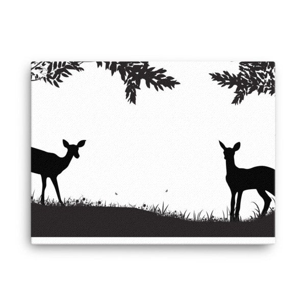 Lookout deer Canvas - Hutsylife - 3