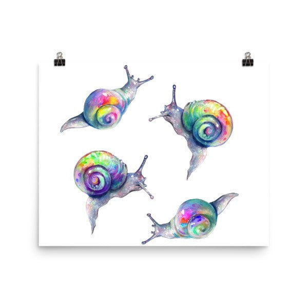 Snail life Poster - Hutsylife - 5
