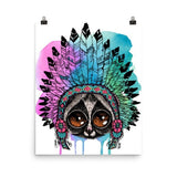 Loris headress Poster - Hutsylife - 9