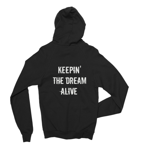 The Dream Classic Black Hoodie (Back Print)