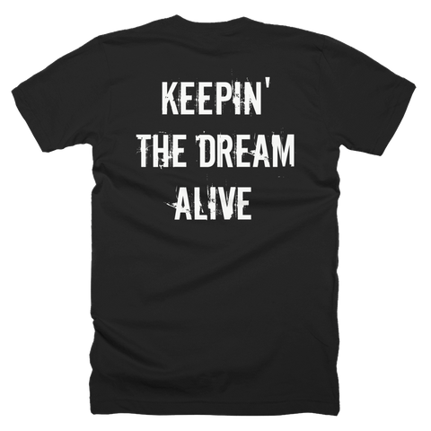 The Dream Classic Black Shirt (Back Print)