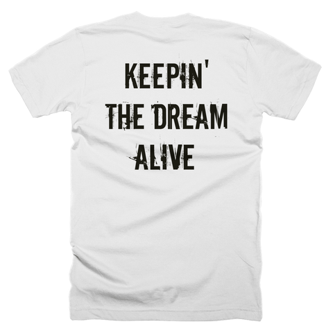 The Dream Classic White Shirt (Back Print)