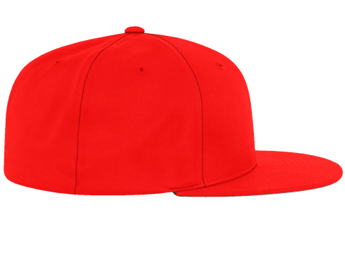 Classic Hutsylife Five panel red Cap - Hutsylife - 2