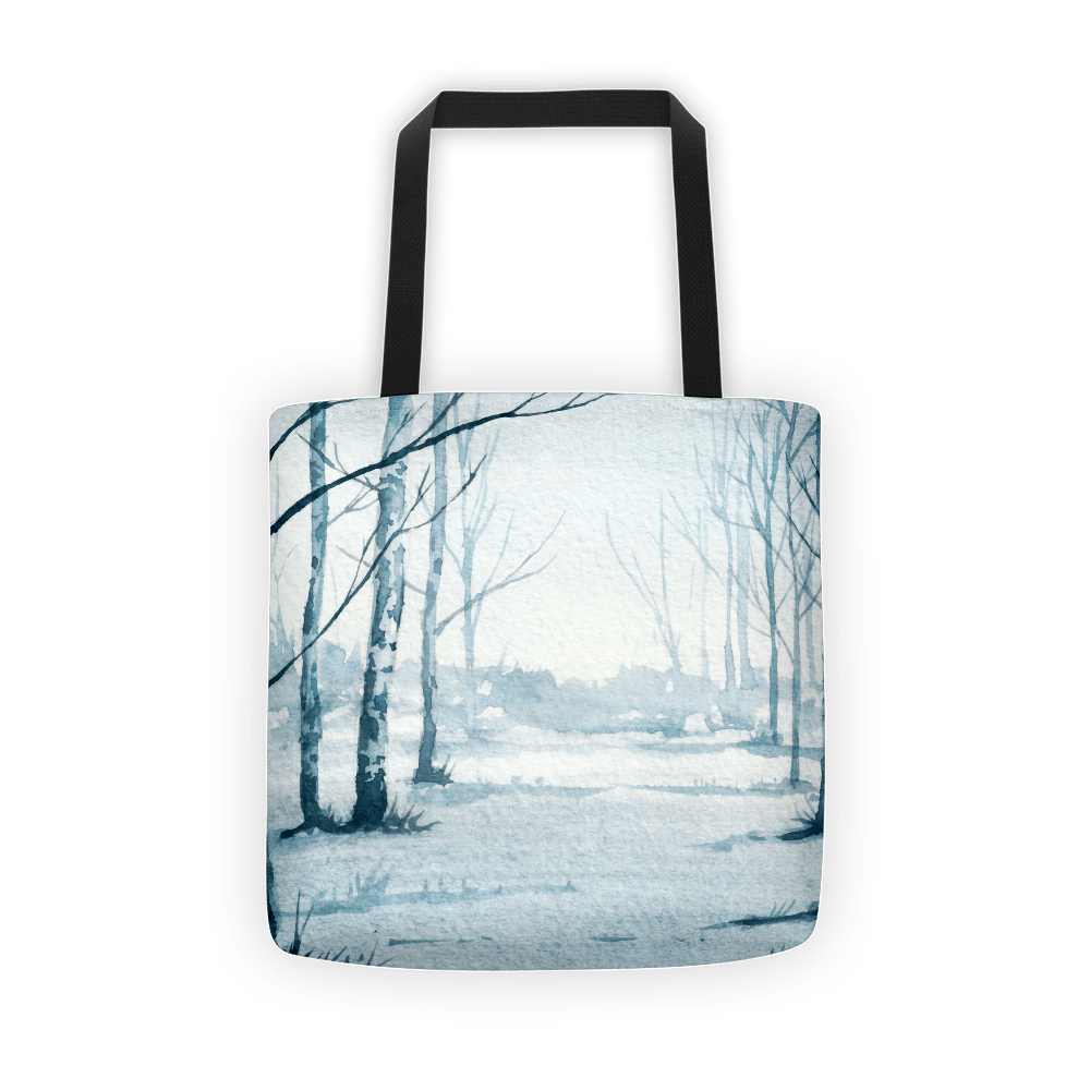 Birch tree's Tote bag