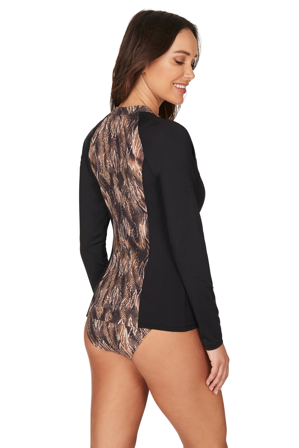Rattle Me Yolanda Long Sleeve Sunsafe Top
