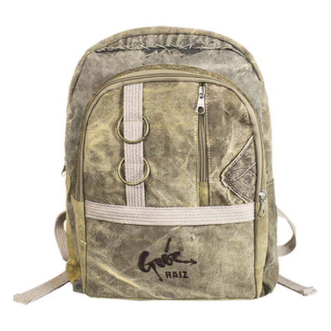 KARU BACKPACK - ARMY CANVAS