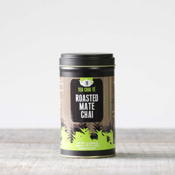 Roasted Mate Chai Premium Tin