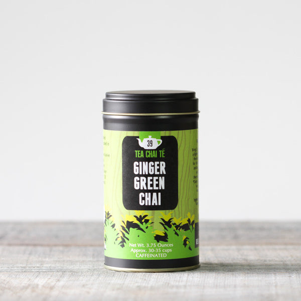 Ginger Green Chai Premium Tin