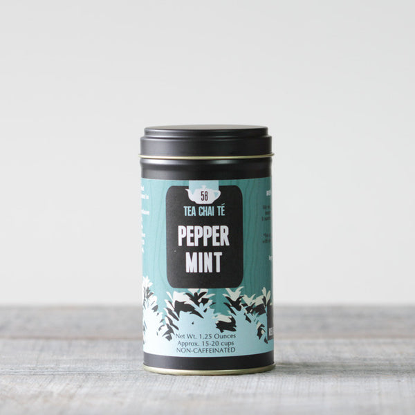 Peppermint Tea Premium Tin
