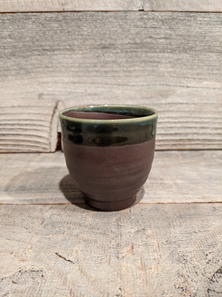 Zen Utsuwa Cup Brown & Green