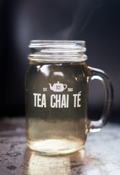 TCT Glass Mason Jar Mug