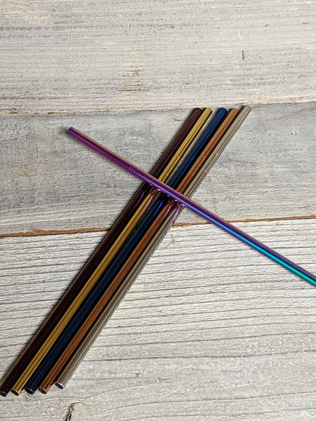 Regular Metal Straw - Blue