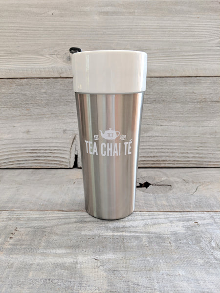 TCT Travel Mug - Silver