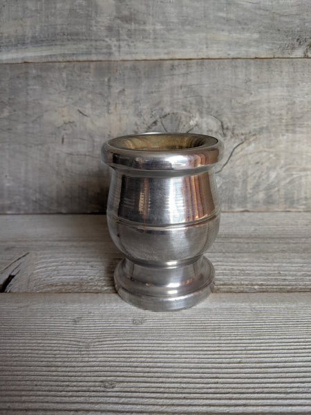 Silver Covered Wood Mate Cup