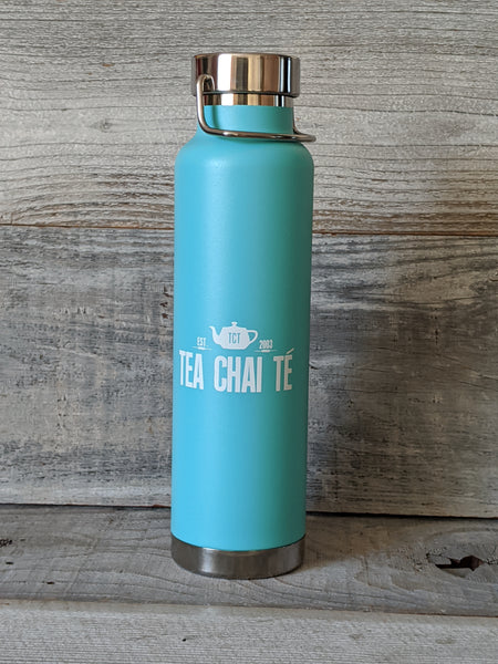 TCT Water Bottle - Teal Stainless Steel