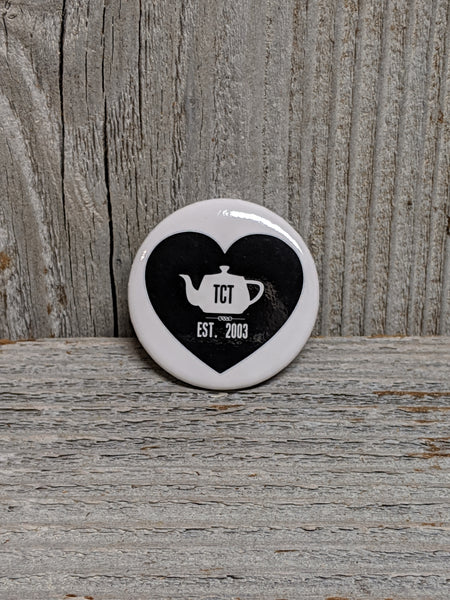 TCT Heart Logo Pin
