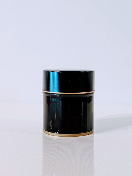 Black Matcha Tea Canister 40g