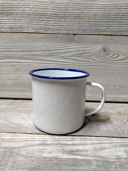 White Speckle Camp Mug