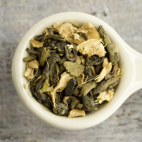 Loose Leaf Ginger Green Chai #39
